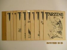 LOT OF (11) TARZINE FANZINES ERB TARZAN (13-34) AND MORE