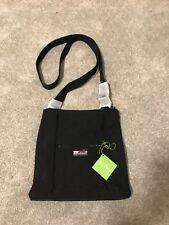 Vera Bradley Hipster Classic Black Microfiber Large Crossbody Bag Purse