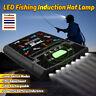 6LED Cap Hat Brim Clip Head Lamp Headlight Headlamp Camping Hiking Fishing