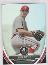 2013 Bowman Platinum RC Jesse Biddle Philadelphia Phillies #BPP59
