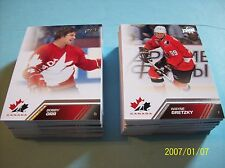 2013-14 Upperdeck Team Canada Complete 100 Card Base Set!