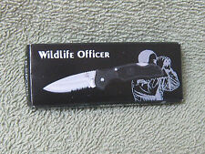 "New Frost Wildlife Officer Lock Back Folding Knife 2 1/2"" Blade  Nice Gift Box"