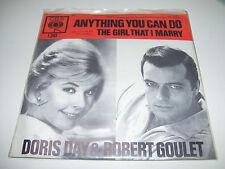"Doris Day & Robert Goulet - Anything You Can Do * RARE 7"" Vinyl HOLLAND"