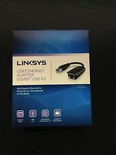 NEW Linksys USB 3.0 Gigabit Ethernet Adapter for MacBook Air, Chromebook, etc.