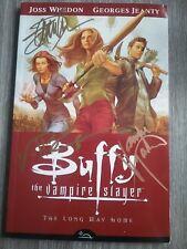 Buffy The Vampire Slayer Signed By James Masters, Eliza Dushku, Nicholas Brendon