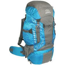 Highlander Discovery 65 Hiking Backpack Trekking Pack Travel Rucksack 65L Teal