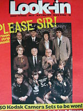 LOOK-IN MAGAZINE 1ST MAY 1971 - PLEASE SIR! - TIMESLIP