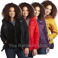 REGATTA WATERPROOF RAINFALL LADIES 3 IN 1 JACKET HOODED WOMEN'S RAINCOAT- RWP130