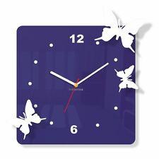 Azul Reloj Grande De Pared Moderno Decoración Hogar Sala Dormitorio Cocina Oficina