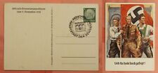 DR WHO 1938 GERMANY POSTAL CARD MUNICH SPECIAL CANCEL 158558