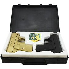 CYMA TWIN SPRING AIRSOFT DUAL PISTOL COMBO PACK SET Hand Gun w/ Case 6mm BB BBs