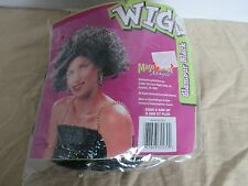 Masquerade Magic~Glamour Black Wig~Ages 8 and Up
