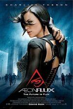 AEON FLUX ~ ORIGINAL REGULAR 27x40 MOVIE POSTER Charlize Theron DAM