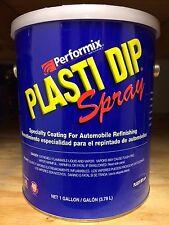 BLACK- Performix Plasti Dip- 1 Gallon Matte BLACK SPRAY-THINNED