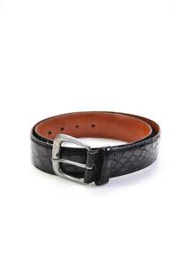 Ralph Lauren  Womens Genuine Alligator Belt Black Size 32