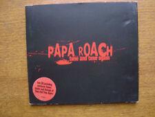 PAPA ROACH - TIME AND TIME AGAIN (ENHANCED CD SINGLE) 2002 4 TRACKS