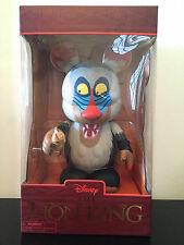 "DISNEY VINYLMATION 9/1.5"" THE LIONG KING RAFIKI MONKEY BABY SIMBA TOY FIGURE SET"
