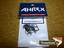 18 x AHREX NS115 #4 NORDIC SALT DEEP STREAMER HOOKS NEW FLY TYING MATERIALS
