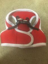 Cute Red Xs Dog Step In Mesh Comfortable Harness Chihuahua Yorkie