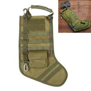 Green Tactical Molle Stocking Bag Xmas Storage Bags Utility Magazine Pouch New