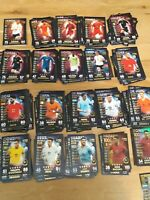 Match Attax 101 2019 Full set of 174 cards inc all 91 World Star Cards - MINT