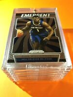 Zion Williamson PANINI PRIZM HOT ROOKIE 2019-20 EMERGENT INSERT RC #7 - Mint!