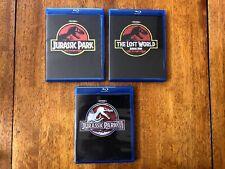 Jurassic Park [Blu-ray], Jurassic Park Ii [Blu-ray] & Jurassic Park Iii [Blu-ray