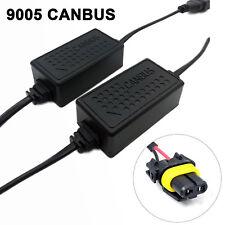 A1 2x LED Canbus Decoder H10 9145 Fog Light Computer Error HID Warning Canceller