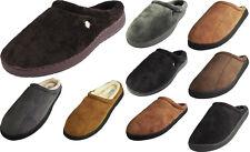 Perry Ellis Portfolio Mens Microsuede Clog/Slide Slip-On Indoor/Outdoor Slippers