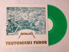 Rare Metallica Teutonicus Furor Arminius Records Green Vinyl Live Record Album