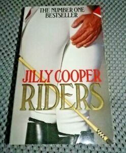 Riders by Jilly Cooper (Paperback)  VGC