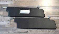 Lada Niva 1600 1700 Sunvisor Kit + Mirror  21213-8204010 + 21213-8204011 BLACK