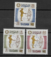 Sudan , 1959 , 1st Anniv. Sudanese Army , Set Of32 Stamps , Perf , Mnh