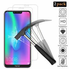 [Pack of 2]  Huawei Honor 8C, Premium Tempered Glass Screen Protector