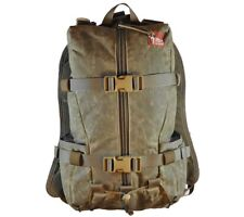 Hill People Gear Tarahumara Backpack Waxed Canvas Field Olive Bushcraft Day Pack