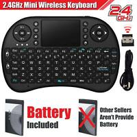 New 2.4GHz Wireless Mini Handheld Keyboard for Android TV PC PS3/4 Xbox 360
