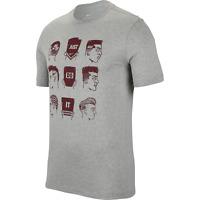 Nike Sportswear Logo Tee Mens T-Shirt Grey Size M Casual Sportswear Top