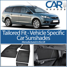 Ford Focus Estate 04-11 UV CAR SHADES WINDOW SUN BLINDS PRIVACY GLASS TINT BLACK