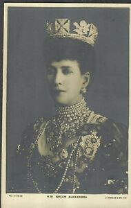 Vintage Postcard Unused H.M Queen Alexandra