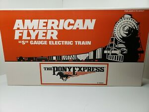 """AMERICAN FLYER """"THE PONY EXPRESS"""" UNION PACIFIC S GAUGE 6-49600"""