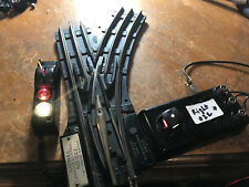 LIONEL 022 POST WAR  REMOTE CONTROL SWITCHES Right hand with rewired remote. b
