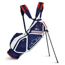 New 2019 Sun Mountain 3.5 LS Golf Stand Bag (Navy / White / Red) - CLOSEOUT