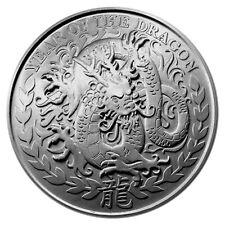 Somaliland Dragon 2012 1 oz .999 Silver Coin