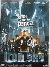 Iron Sky (DVD, 2012) NEW SEALED (Nordic Packaging) Region 2 PAL NO ENG SUBTITLES