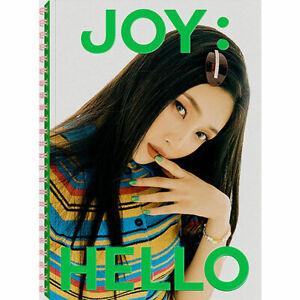 RED VELVET JOY HELLO/안녕 Special Album PHOTO BOOK CD+POSTER+P.Book+Card+etc+GIFT