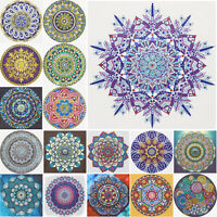 5D DIY Special Shaped Diamond Painting Mandala Embroidery Cross Stitch Decor Kit