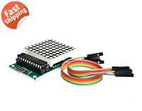 MAX7219 DOT Matrix LED Module Display for Arduino / Pi MCU DIY Kit or Assembled