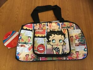 Betty Boop Large Bag Brand New Collectable Overnight Bag Cartoon Style Luggage