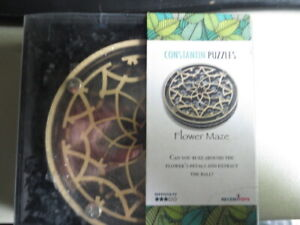 Constantin Puzzle - Flower Maze Puzzle Play Learn Solve Hobby