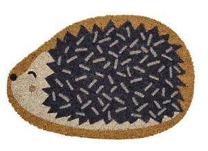 Hedgehog shaped Doormat - Hedgehog Door mat - Hedgehog gift ideas - Coir Doormat